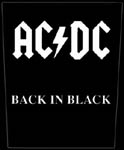 BACK PATCH - AC/DC BACK IN BLACK