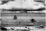 GIANT POSTER - BIKINI ISLAND 1946 ATOMIC BOMB TEST - 39