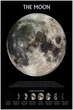 PHASES OF THE MOON POSTER -  24