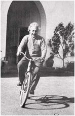 ALBERT EINSTEIN BIKE - POSTER - 24
