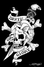 ED HARDY DEATH OR GLORY - POSTER - 24