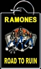KEYCHAIN - RAMONES ROAD TO RUIN
