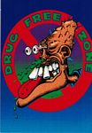 POSTCARD - DRUG FREE ZONE
