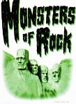 POSTCARD - MONSTERS OF ROCK