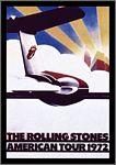 POSTCARD - ROLLING STONES US TOUR
