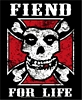 MISFITS - FIEND FOR LIFE - STICKER