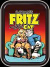 R. CRUMB - FRITZ THE CAT LARGE STASH TIN