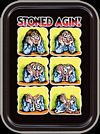 STONED AGIN  - R. CRUMB - LARGE STASH TIN