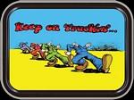 R. CRUMB - KEEP ON TRUCKING MINI STASH TIN