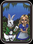 STRANGELING - ALICE & RABBIT MINI STASH TIN