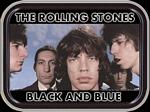 ROLLING STONES BLACK & BLUE MINI STASH TIN