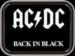 AC/DC BACK IN BLACK MINI STASH TIN