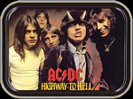 AC/DC HIGHWAY TO HELL MINI STASH TIN