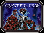 GRATEFUL DEAD SKELETON & ROSES MINI STASH TIN