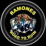 RAMONES ROAD TO RUIN ROUND STASH TIN