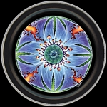 PEYOTE MANDALA ROUND STASH TIN - MIKE DUBOIS
