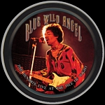 JIMI HENDRIX BLUE WILD ANGEL ROUND STASH TIN