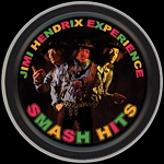 JIMI HENDRIX SMASH HITS ROUND STASH TIN